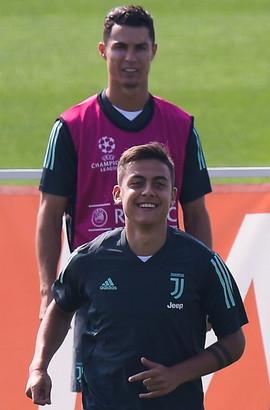 Alla Continassa ultimo allenamento prima della partenza per Madrid