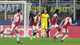 Champions League: Inter-Slavia Praga 1-1, Barella salva Conte nel recupero