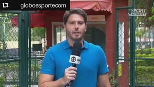 Dani Alves fa l'invasore in diretta tv