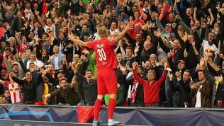Il Salisburgo si gode Haaland: tre gol all'esordio in Champions