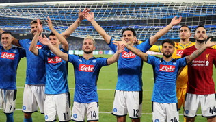 Napoli-Liverpool da record, quasi in 5 milioni su Canale 5