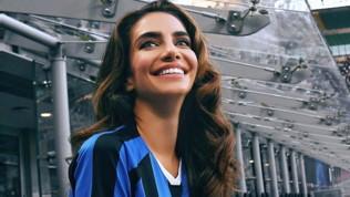 Inter, Jessica Kahawaty fa il tifo per te