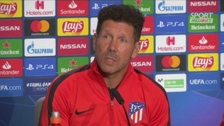 "Simeone: ""CR7 è un animale da gol"""