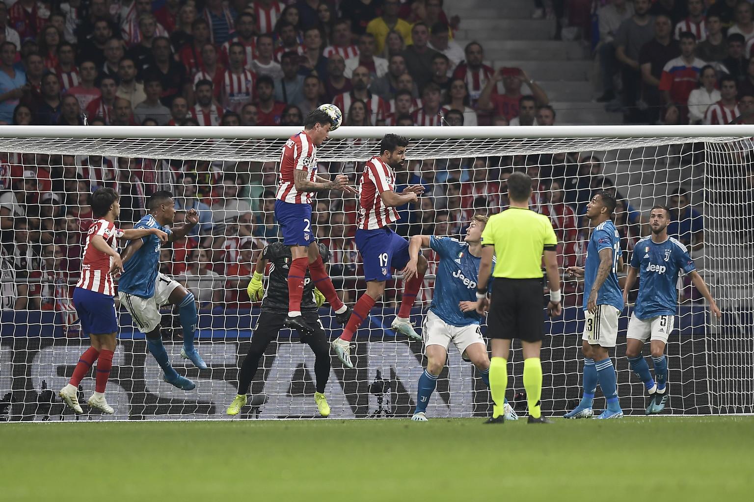 Le immagini migliori della sfida di Champions League al Wanda Metropolitano