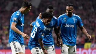 Juventus, i compagni riprendono Cuadrado: Bonucci lo difende