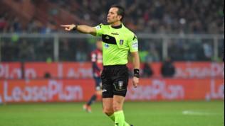 Serie A, gli arbitri della quarta giornata: Milan-Inter a Doveri