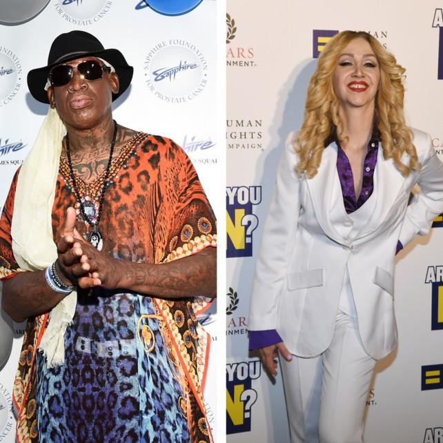 """Nba, Rodman: """"Madonna mi offrì 20 milioni per metterla incinta"""""""