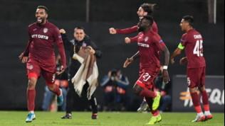 Cluj-Lazio: le foto del match
