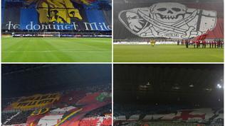Il derby di Milano parte dalle curve