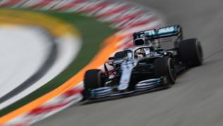 F1, Singapore: Hamilton comanda le libere,Vettel terzo e Leclerc sesto