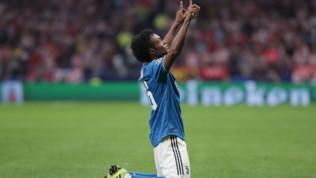 Champions League, il gol di Cuadrado premiato come il migliore della prima giornata