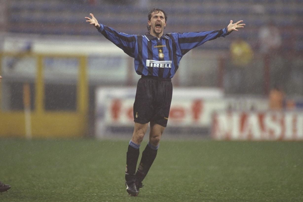 MAURIZIO GANZ - è stato punta dell'Inter tra il 1995 e il 1997, segnando di testa un gol nel derby cittadino
