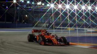 La F1 sotto i riflettori di Singapore