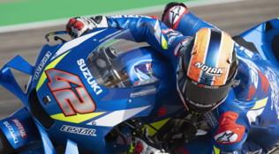 MotoGP Aragon, Libere 3 bagnate: svetta Rins, non cambiano i tempi