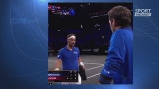 Federer e Nadal coach di... Fognini