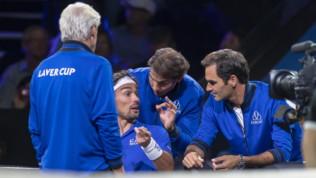 Tennis, Federer e Nadal fanno da coach a Fognini