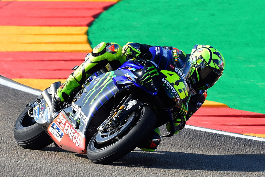 Lo spagnolo partirà in pole position nel GP d'Aragona
