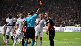 Milan, Rebic stangato dalla Uefa: 5 giornate di squalifica