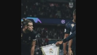 Bale rifiuta il gagliardetto del Real