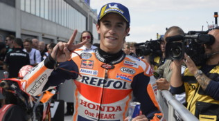 "MotoGP Aragon, Marquez: ""Ho un gran passo, ma la gara è domenica..."""