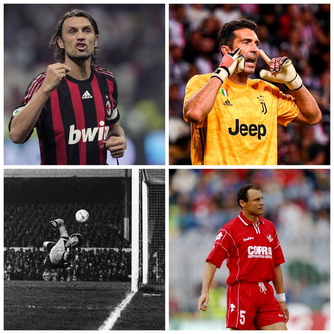 Da Maldini a Buffon, passando per Totti e Del Piero. Ecco la top 10 dei giocatori che hanno disputato più gare con i club