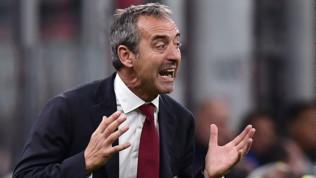 """Milan, Giampaolo: """"Inter più esperta, ci siamo disuniti dopo il gol"""""""