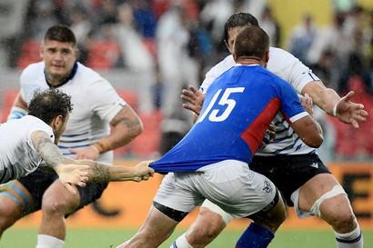 L'Italia fa il compito:Namibia battuta 47 a 22all'esordio delMondialedi rugby.Gara mai in discussione contro un ...