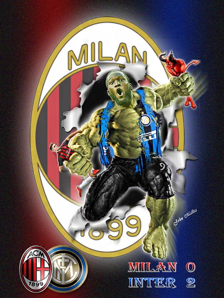 Milan-Inter vista sui social tra gli sfott&ograve; ai tifosi rossoneri e la gioia di quelli nerazzurri<br /><br />