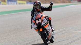 Moto3 Aragon:dominio Canet, crollano Dalla Porta e Arbolino