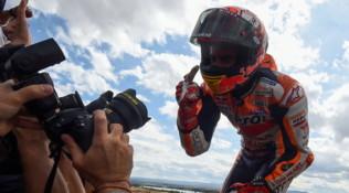 """MotoGP Aragon, Marquez: """"Una gara comoda"""""""