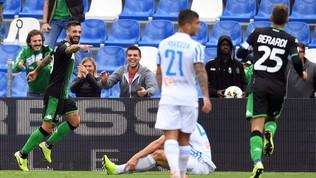 Serie A, Sassuolo-Spal 3-0, Caputo doppietta