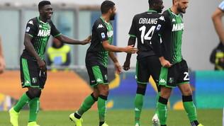 Sassuolo, tre gol alla Spal nel lunch match