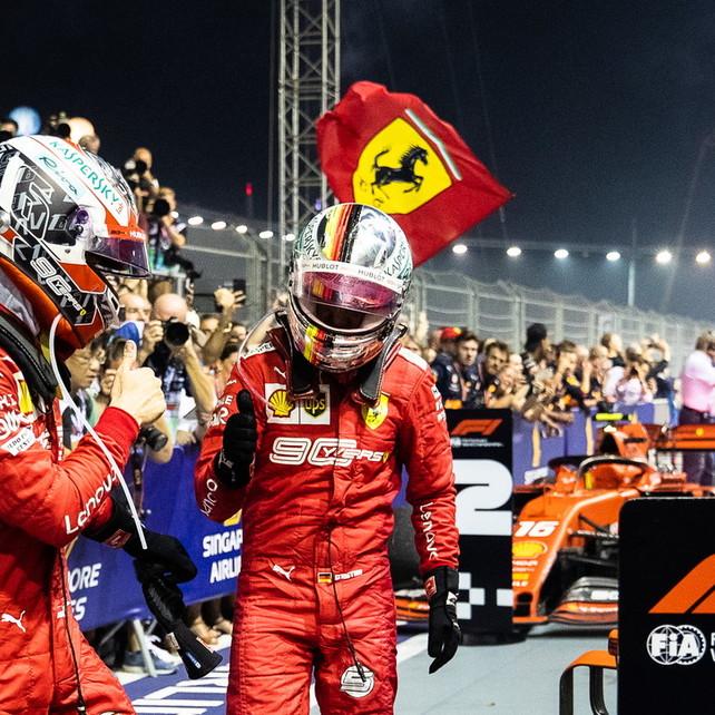 Vettel, una vittoria utile soprattutto per il 2020