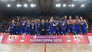 La Supercoppa a Sassari: Venezia ko all'overtime 83-80