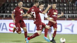 Serie B, la guerra dei nervi va alla Salernitana: un rigore di Kiyine fa sprofondare il Trapani
