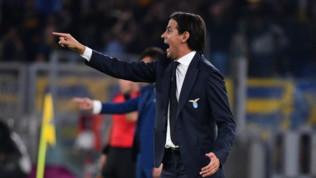 """Lazio, Inzaghi: """"Immobile? Reazione troppo plateale, ma non c'è problema"""""""