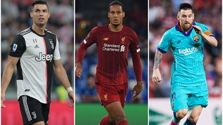 The Best Fifa Football Awards: Ronaldo sfida Messi e Van Dijk