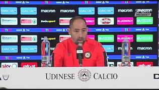 """Udinese,""""Tudor: """"Con Brescia sconfitta immeritata, a Verona il riscatto"""""""