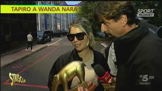 Niente Icardi e Inter prima: Tapiro per Wanda