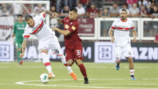 Serie B: la Salernitana non aggancia la vetta, il Chievo le impone l'1-1