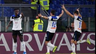 Serie A, Roma-Atalanta 0-2: Zapata e De Roon stendono i giallorossi