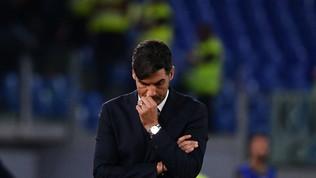 """Roma, Fonseca: """"Atalanta più brava, noi male"""""""