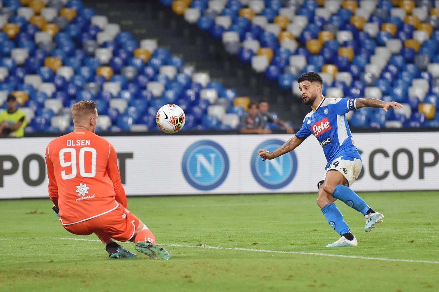 Un gol di Castro nel finale gela il San Paolo