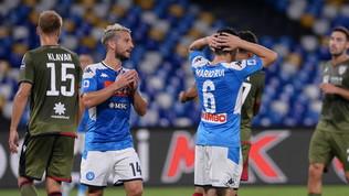 Napoli, così non va: il gioco c'è, foga agonistica e difesa ancora no