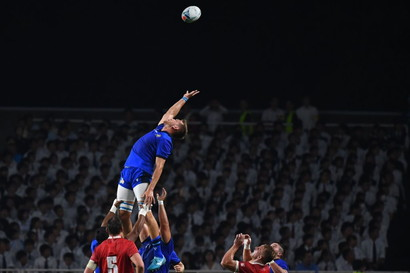 L'Italia ha battuto il Canada all'Hakatanamori Stadium di Fukuoka nel secondo incontro valido per il Girone B della Rugby World Cup. Gli azzur...