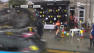 Mondiali juniores ciclismo: Van Uden finisce... al bar