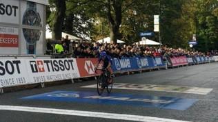 Ciclismo, Mondiali: Martinelli d'argento nella prova juniores
