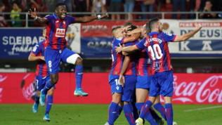 Liga: crollo totale del Siviglia sconfitto in casa dell'Eibar