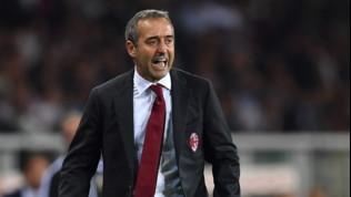 """Milan, Giampaolo: """"Sconfitta immeritata, è mancato cinismo"""""""