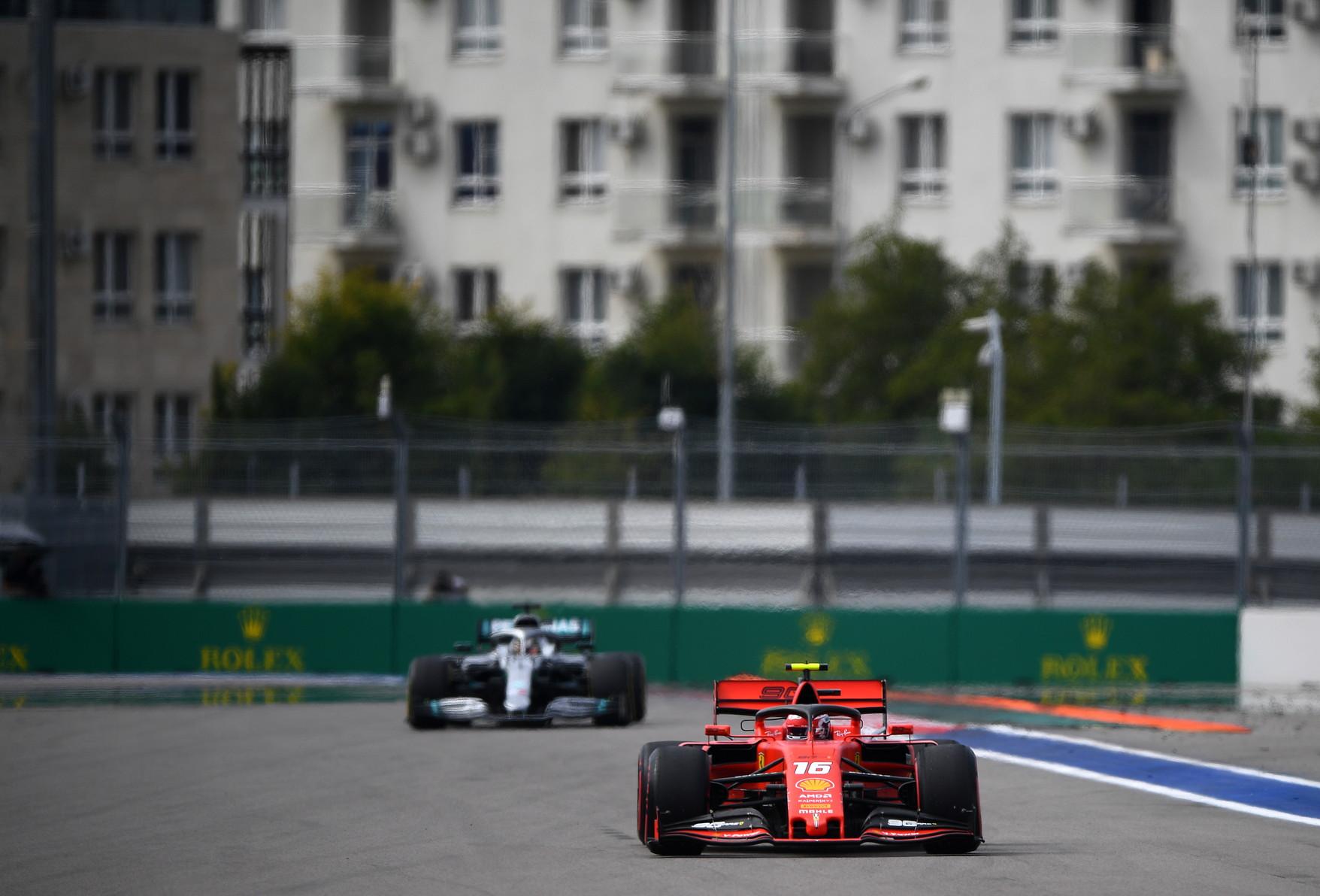 Venerdì di libere in Russia, a una settimana dalla doppietta Ferrari di Singapore
